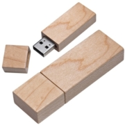 Stick USB lemn